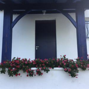 entrée maison basque