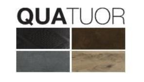 QUATOR - 4 types de finitions proposées sur les portes d'entrée de la collection SURFACE de K-Line