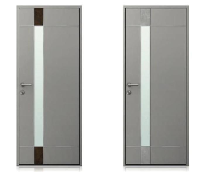 Modèles de portes d'entrée de la collection SURFACE de K-Line