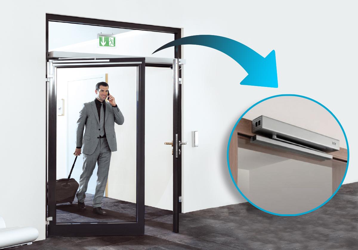 Opérateur ouvre-porte automatique disponible chez Ty Bask, spécialiste de la fermeture au pays basque et sur le sud des Landes