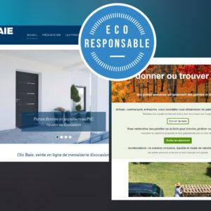 Clic baie et Montasdebois.fr, des initiatives d'économie durable au service du batiment