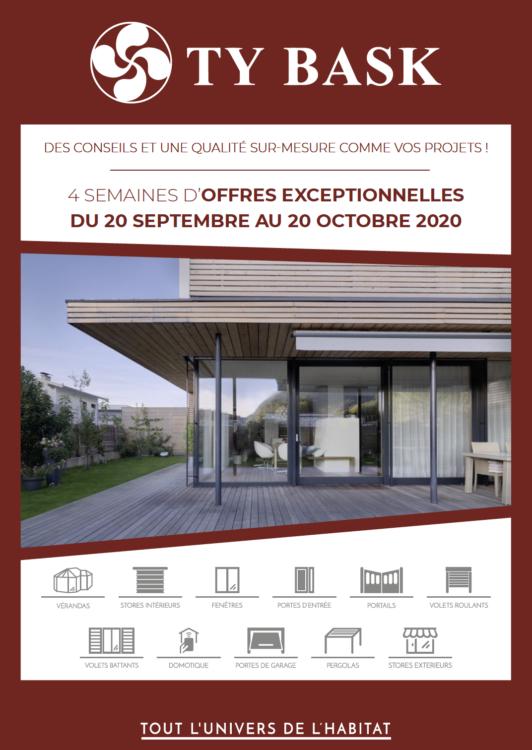 Couverture catalogue opération commerciale Automne 2020 Ty Bask