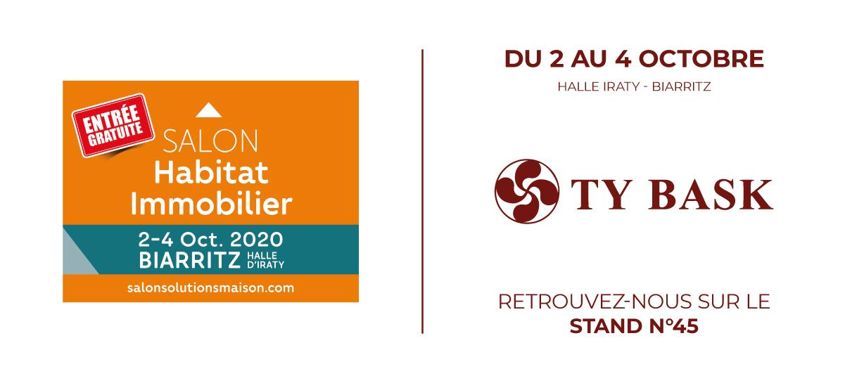 Ty Bask, spécialiste de la fermeture de l'habitat - fenêtres, portails, portes, vérandas, pergolas, carports...- expose ses produits au Salon Habitat Immobilier, du 2 au 4 octobre, à la Halle d'Iraty de Biarritz.